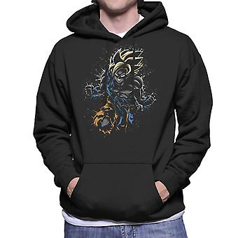Sweat à capuche Dragon Ball Z Goku Fly fond hommes