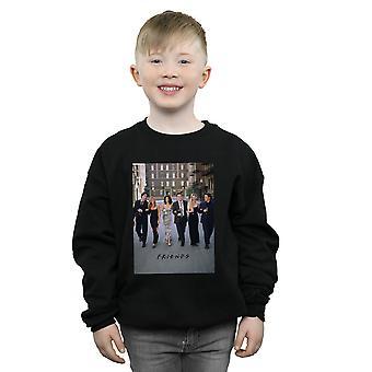 Friends Boys Champagne And Flowers Sweatshirt