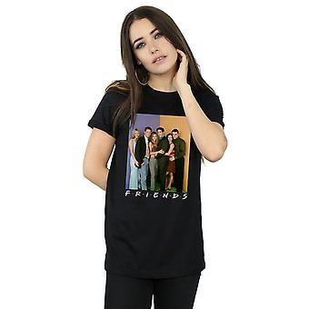 Friends Women's Group Photo Boyfriend Fit T-Shirt