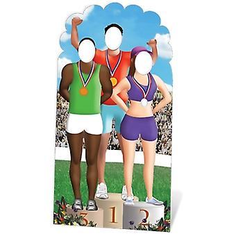Olympiske Lifesize pap Stand-In