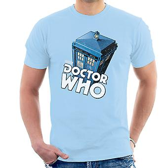 Doctor Who Classic Tardis Men's T-Shirt