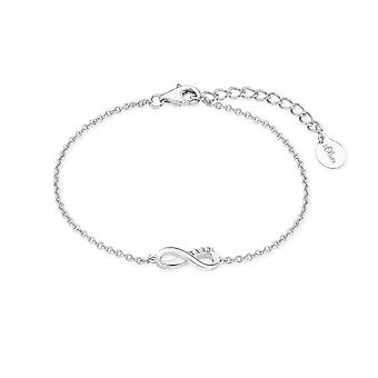 s.Oliver jewel ladies bracelet silver cubic zirconia SO PURE infinity 2017243