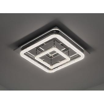 Led ceiling lamp Crilou SQ-L 50x50cm Crystal diffuser 48W 4000 K chrome 10741