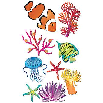 Jolee's Boutique Dimensional Stickers-Sea Anemone