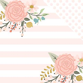 Bliss Gold Foiled Double-Sided Cardstock 12