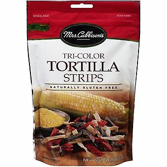 Mrs. Cubbison de Tri-Color tortilla stroken 2 stuks
