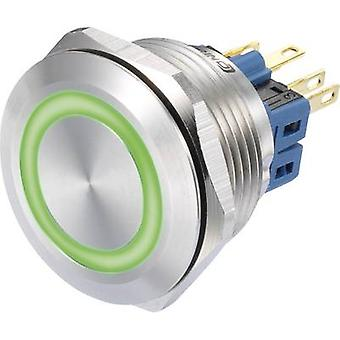 COMPOSANTS de TRU GQ28-11E/G/12V Pushbutton 250 V AC 3 1 x On/(On) IP65 momentanée 1 PC (s)