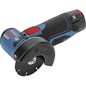 Bosch Professional GWS 10,8-76 V-EC 06019F2002 Cordless angle grinder 76 mm incl. spare battery, incl. case 10.8 V 2.5