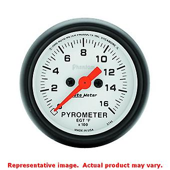 Auto Meter Phantom Gauge 5744 2-1/16in Range: 0-1600 F Fits:UNIVERSAL 0 - 0 NO