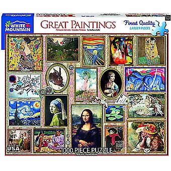 Great Paintings 1000 Piece Jigsaw Puzzle 760Mm X 610Mm