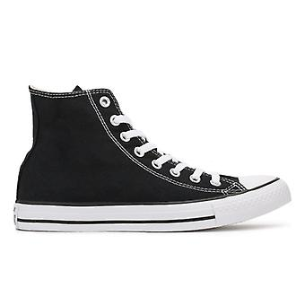 Converse Mens Womens zwarte All Star Hi Trainers