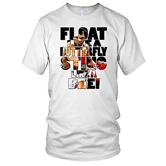 Float Like A Butterfly Sting Like A Bee - Ali Mens T Shirt