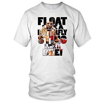 Float jak motyl Sting jak pszczoła - Ali Mens T Shirt
