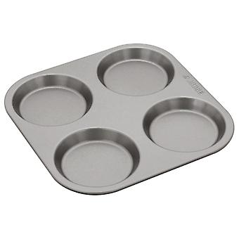 Judge Bakeware, 4 Cup Yorkshire Pudding Tin, 10 x 1.5cm, (4 x ½inch)