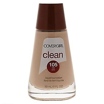 Covergirl Clean Liquid Foundation 105 Ivory 1oz / 30ml