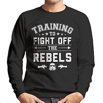 Ursprungliga Stormtrooper utbildning till slagsmål av rebellerna Mäns tröja