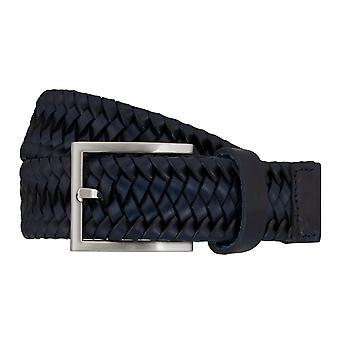 LLOYD Men's Belts Gürtel Herrengürtel Flechtgürtel Marine/Blau 7586