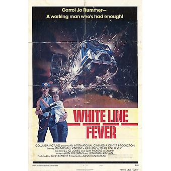 White Line Fever Movie Poster (11 x 17)