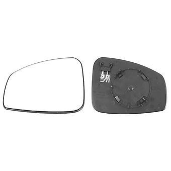 Left Mirror Glass (heated) & Holder for RENAULT MEGANE Hatchback 2008-2015