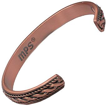 MPS® ROPES Pure Copper Magnetic Bangle with 6 Magnets + Free Luxury Gift Pouch