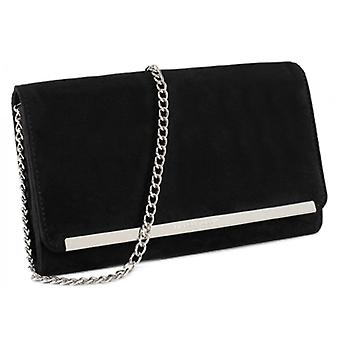 Marco Tozzi Suede Clutch Bag - 61001