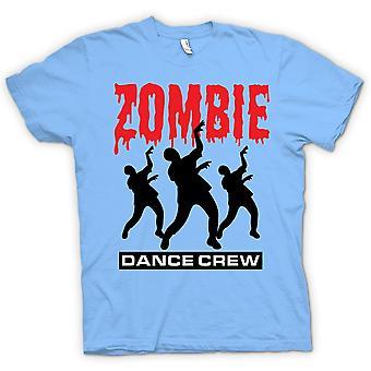 Womens T-shirt - Zombie Dance Crew - grappige Horror