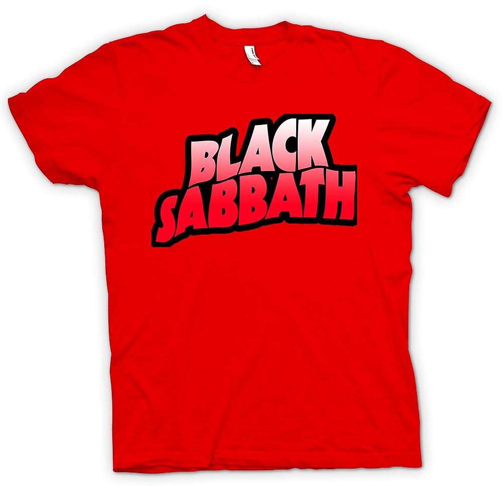 Mens T-shirt -  Sabbath - Heavy Metal Logo