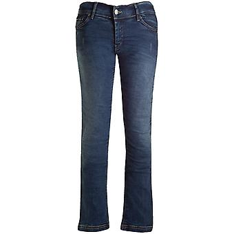Bull-It Blue Vintage SR6 Straight - Long Motorcycle Jeans