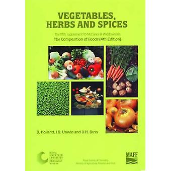 Vegetables - Herbs and Spices - Supplement to the Composition of Foods