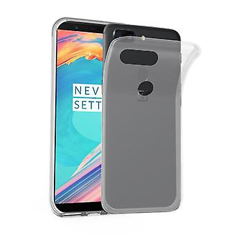 Cadorabo case for OnePlus 5T - Mobile cover from TPU silicone in the ultra slim 'AIR' design - silicone case cover soft back cover case bumper