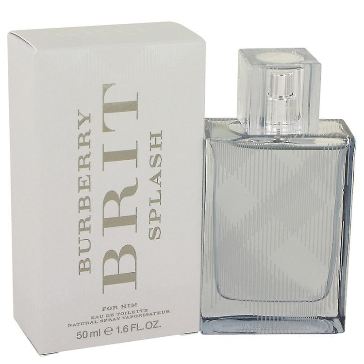 Burberry Brit Splash by Burberry Eau De Toilette Spray 1.6 oz   50 ml (Men aae4d9c5ab