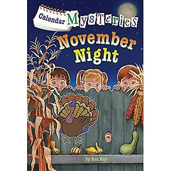 Calendar Mysteries #11: November Night (Stepping Stone Book(tm))