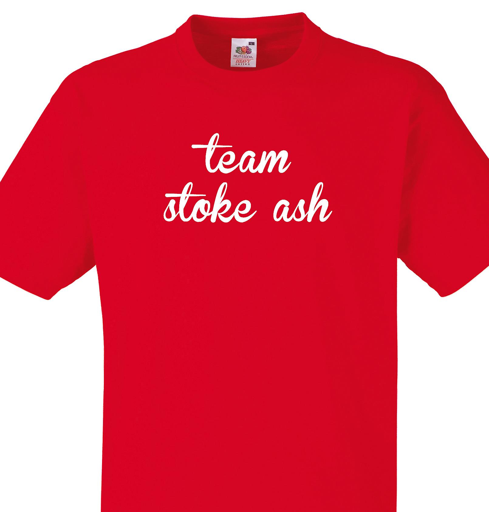 Team Stoke ash Red T shirt