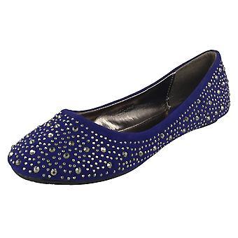Girls Cutie Studded Ballerina Shoes H2250