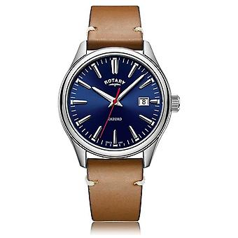 Rotary   Gents Tan Leather Strap   Stainless Steel Case   GS05092/53 Watch