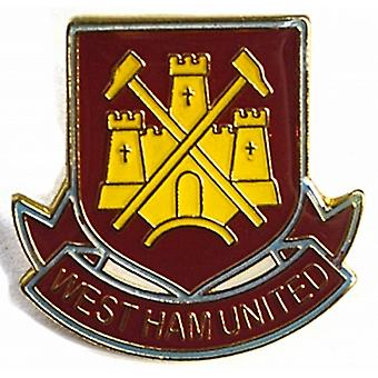 West Ham Utd FC metal / emalje pinnen (bb)