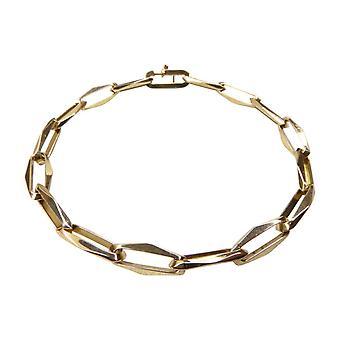 Or 14 carats fermé à jamais bracelet