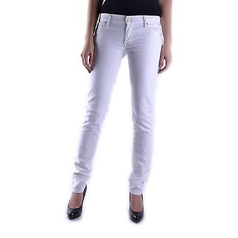 7 For All Mankind White Cotton Jeans