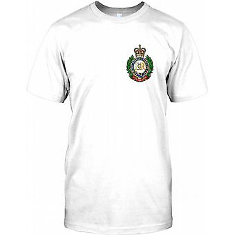 L'armée britannique Royal Engineers - logo Chest T Shirt