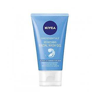 Nivea Visage Refresh F/Wash Gel 150Ml