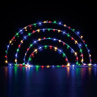 Make Your Own Rainbow Fairy Light Sign