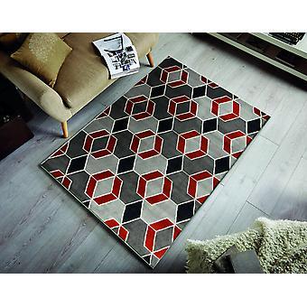 Cocktail Mai Tai Grau Terra Rechteck Teppiche moderne Teppiche