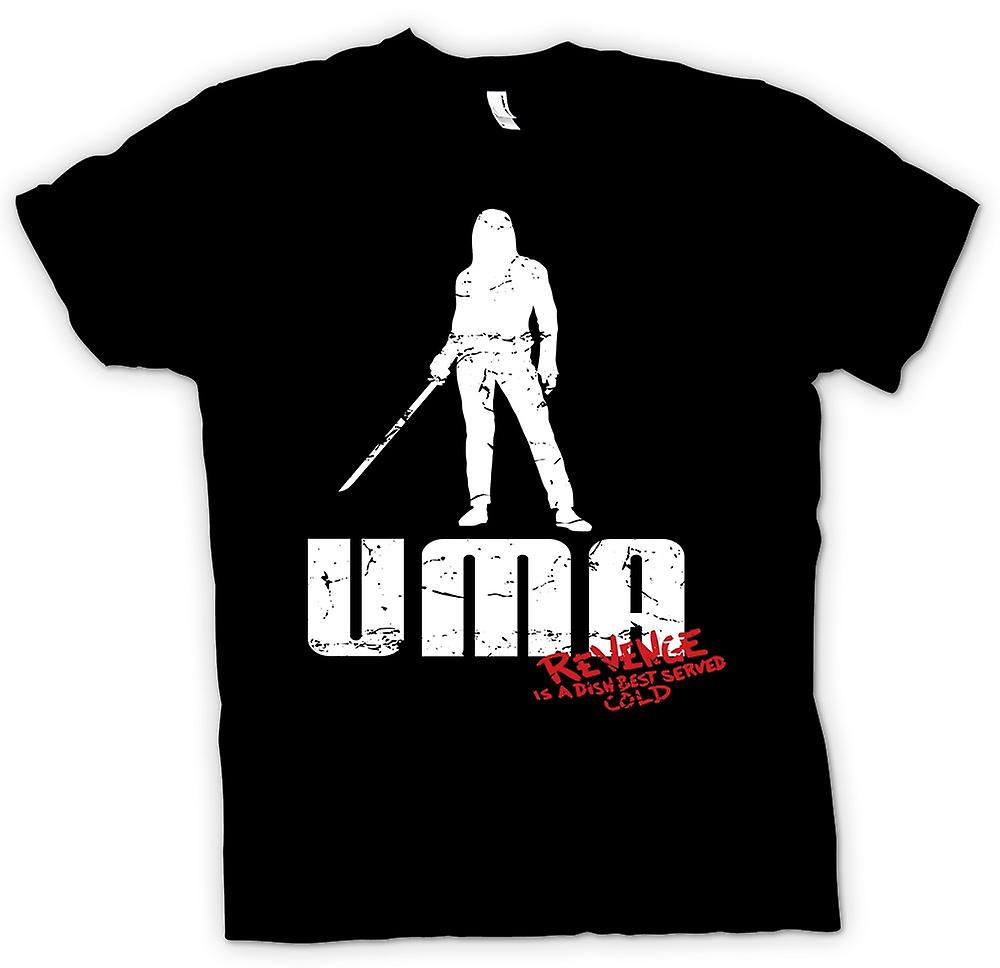 Womens T-shirt - UMA - Revenge Is Best Served Cold - Kill Bill Inspired