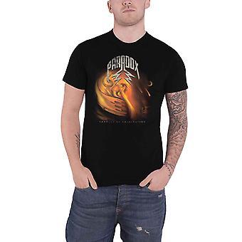 Paradox T Camicia Prodotto Di Imagination Band Logo nuovo Ufficiale Mens Nero