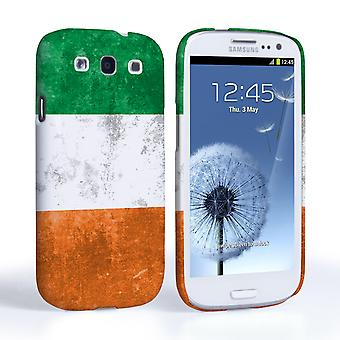 Caseflex Samsung Galaxy S3 Retro Ireland Flag Case
