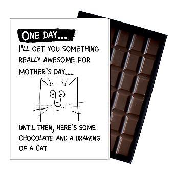 Moederdag grappige cadeaus voor kat minnaar boxed chocolade aanwezig voor moeder mummie moeder OD113