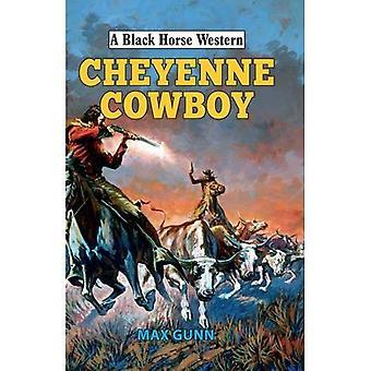 Cowboy de Cheyenne (um cavalo preto ocidental)
