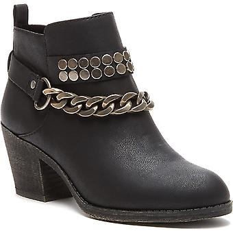 Rocket Dog Womens Shelinda Pablo Chunky Heel Western Boots