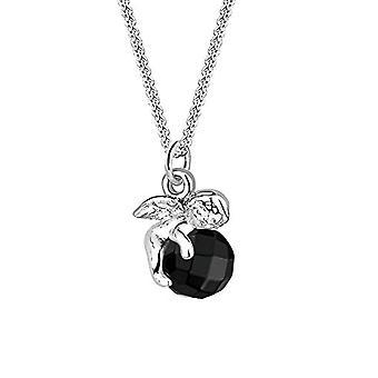Elli FINENECKLACEBRACELETT - Silber - Farbe: schwarz - Kabeljau. 0101840512_45_Schwarz
