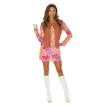 Bristol Novelty Womens/Ladies Sunshine Hippy Costume